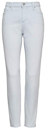 Skinny Color Wash Ankle Jean