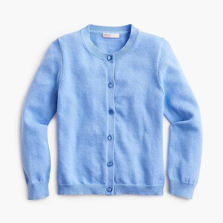 J.Crew: Girls' Casey Cardigan Sweater