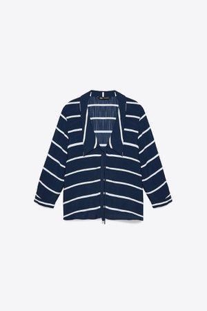 STRIPED BLOUSE | ZARA United States