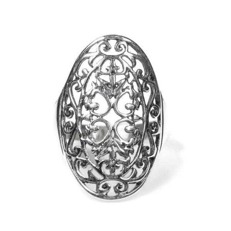 Rings | Shop Women's Silver Sterling Ring at Fashiontage | RP142109-7