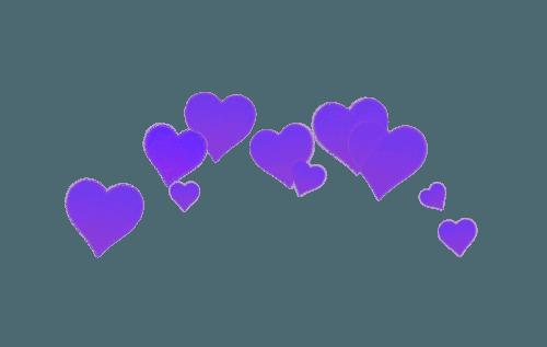 Purple Png Hearts Filler