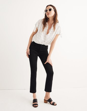 Tall Cali Demi-Boot Jeans in Black Frost