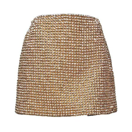 Gianni Versace Couture Golden Jewel Skirt AW 1994 For Sale at 1stdibs