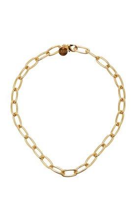 Gold-Plated Necklace By Young Frankk | Moda Operandi