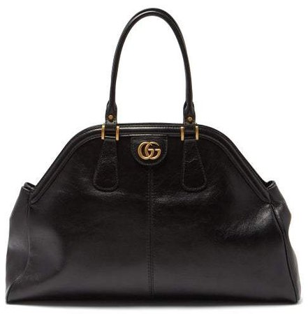 Re(belle) Leather Bag - Womens - Black