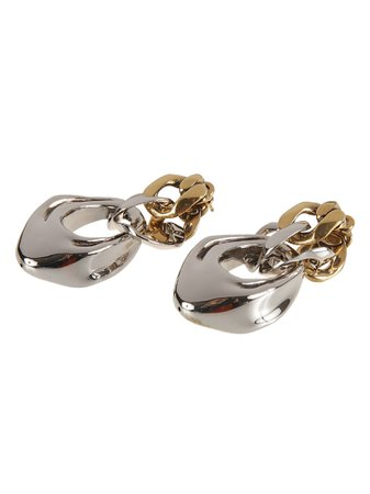 Alexander McQueen Sculp. Chain Earrings
