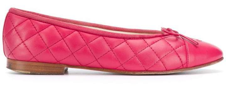 Pre-Owned '1990s quilted ballerinas