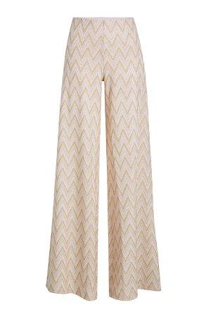 Crochet Knit Wide Leg Pants Gr. IT 42