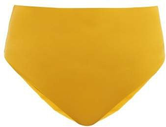 Bound High Rise Bikini Briefs - Womens - Yellow