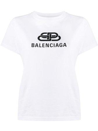 Balenciaga t-shirt Med Logotyp - Farfetch