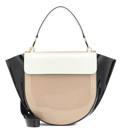 Hortensia Big leather shoulder bag