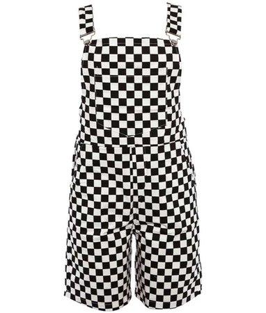 checker overalls