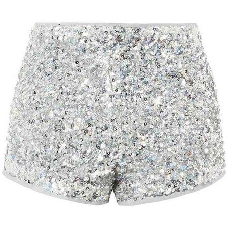 Topshop Sequin Hot Pants