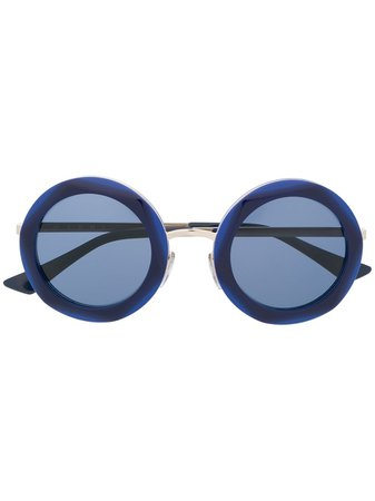 Marni round tinted sunglasses - FARFETCH