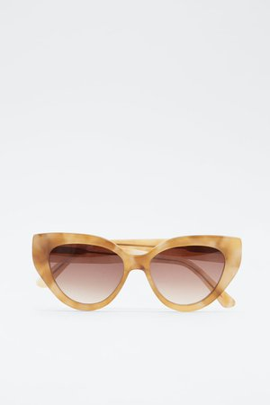 GEOMETRIC ACETATE SUNGLASSES | ZARA India