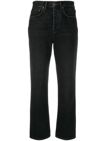 Acne Studios Mece straight-leg Cropped Jeans - Farfetch