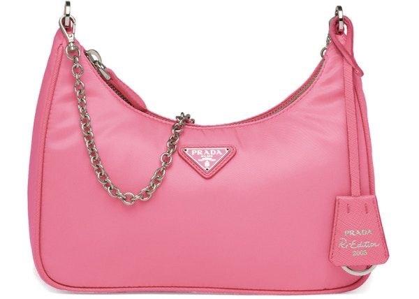 Prada Pink Shoulder Bag