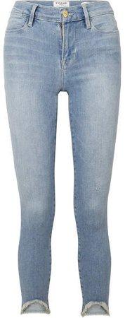 Le High Skinny Jeans - Light denim