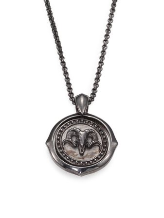 Stephen Webster Sterling Silver Aries Pendant Necklace