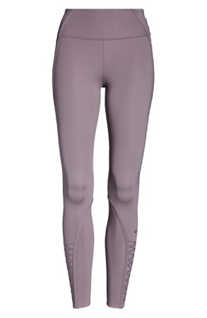Nike One Lux 7/8 Lacing Tights | Nordstrom