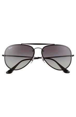 Ray-Ban 61mm Gradient Lens Aviator Sunglasses | Nordstrom