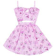 teddy bear dress