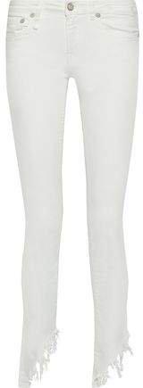 Kate Distressed Low-rise Skinny-leg Jeans