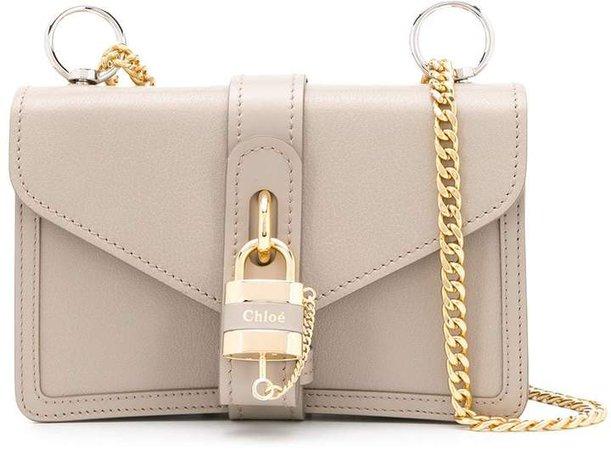 Aby lock shoulder bag