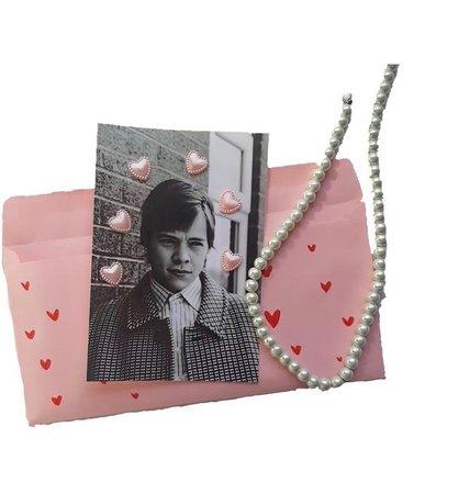 harry styles love letter