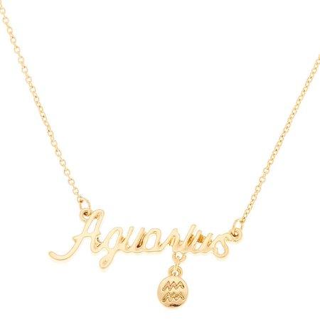 Aquarius necklace - Google Search