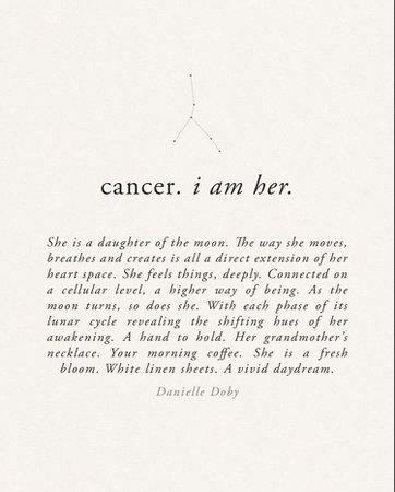cancer i am her