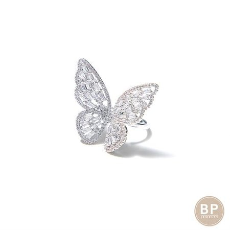 Let's Be Free Adjustable Butterfly Ring – BERNA PECI JEWELRY