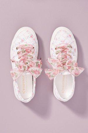 Superga x Loveshackfancy Floral Sneakers | Anthropologie