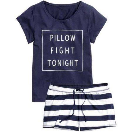 H&M Jersey Pajamas Set