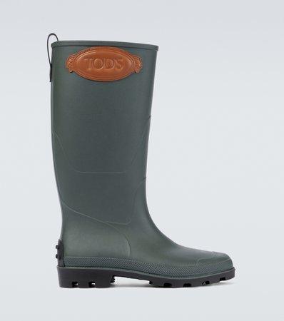 Tod's, Rubber Wellington boots
