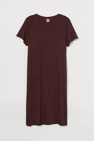 H&M+ Jersey Dress - Red
