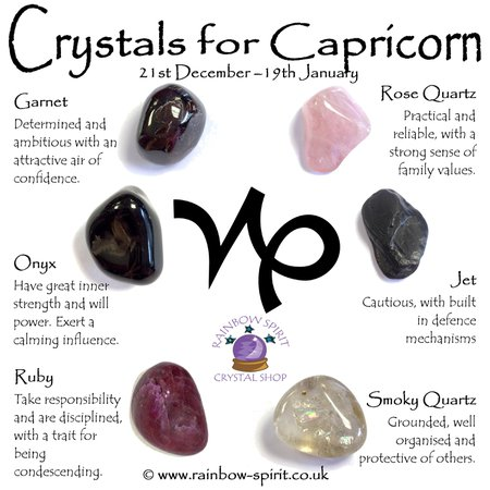 crystals for capricorn - Google Search