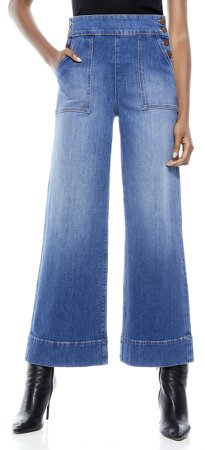 Donald High Rise Wide Leg Jean