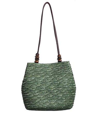 Tonwhar® European Style Straw Bag Purse Woven Summer Beach Tote (Natural): Amazon.ca: Shoes & Handbags
