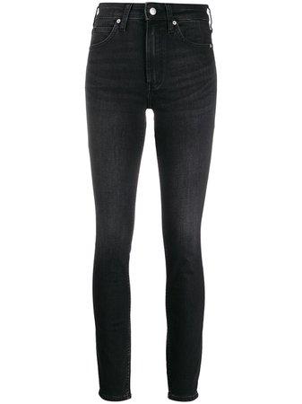 Calvin Klein high-rise Skinny Jeans - Farfetch