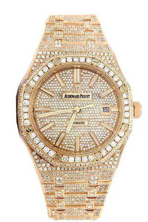 Audemars Piguet Diamond and Gold Watch