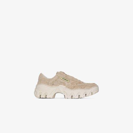 Rombaut Neutral Boccaccio chunky sole canvas sneakers