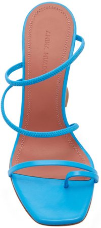 Amina Muaddi Naima Strappy Leather Sandal