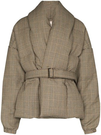 Alexandre Vauthier, Prince Of Wales Puffer Coat