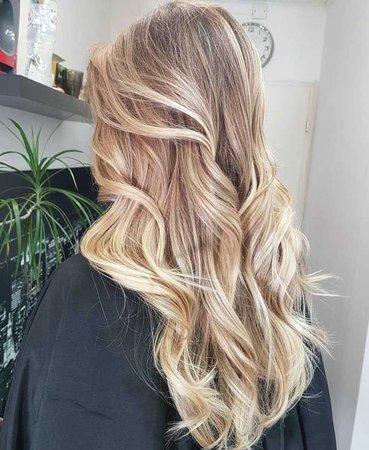 blonde wavy hair - Google Search