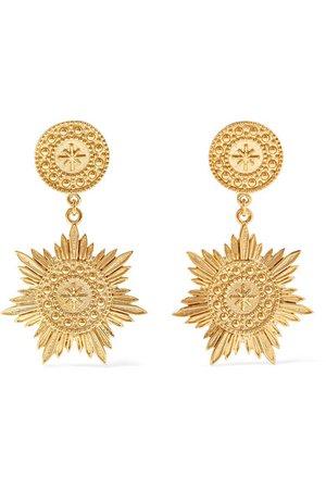 Meadowlark | Soren gold-plated earrings | NET-A-PORTER.COM