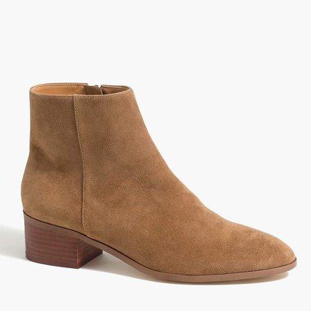 Walker suede boots