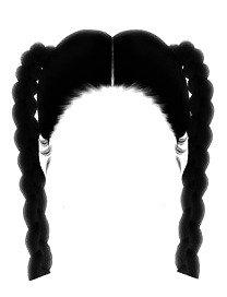 braided hair edit png