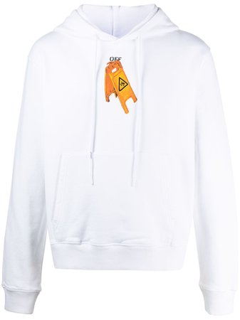 Off-White Pascal Skeleton Painting Hoodie - Farfetch