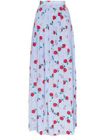Rebecca De Ravenel al fresco silk maxi skirt $537 - Buy Online AW18 - Quick Shipping, Price